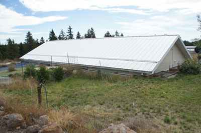 goldendale passive solar banked rear
