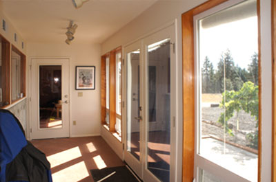 goldendale passive solar entry