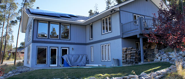 Passive Solar Sunroom Addition, Breckenridge, CO