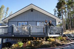 Breckenridge Solar sundeck