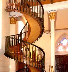 santa fe spiral staircase