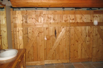 log-home-custom-closet-doors