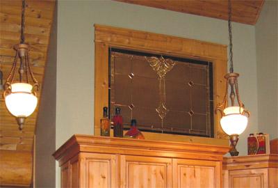 log-home-window