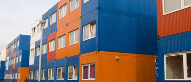 stacked container homes