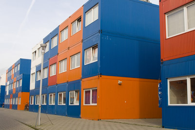apartment from container homes